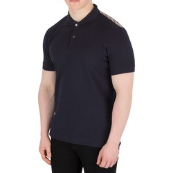 Clothing Men short-sleeved polo shirts Aquascutum Men's Hill Pique Polo Shirt, Blue blue