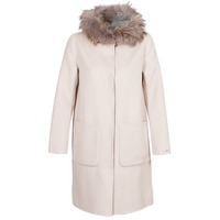 Clothing Women Coats Oakwood YALE BI Beige / Grey