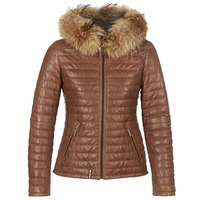 Clothing Women Duffel coats Oakwood HAPPY Cognac