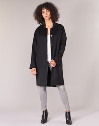 Clothing Women Coats Benetton MARBELLO Black