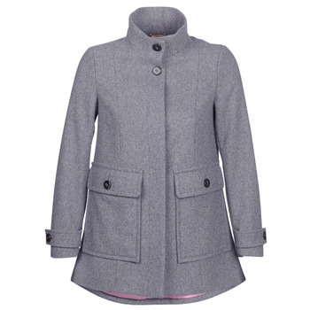 Clothing Women coats Benetton MARTINO Grey