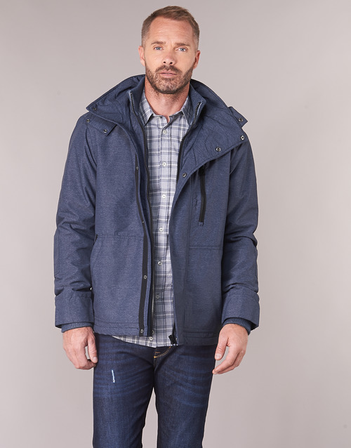 Clothing Men Jackets Benetton MARDAN Marine