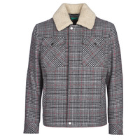 Clothing Men Coats Benetton MADRILA Grey