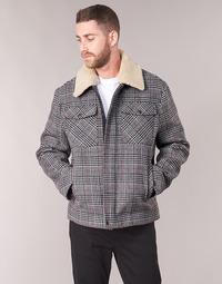 Clothing Men coats Benetton MADRILA Grey