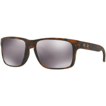 Watches Men Sunglasses Oakley Men's Holbrook Prizm Sunglasses, Brown brown