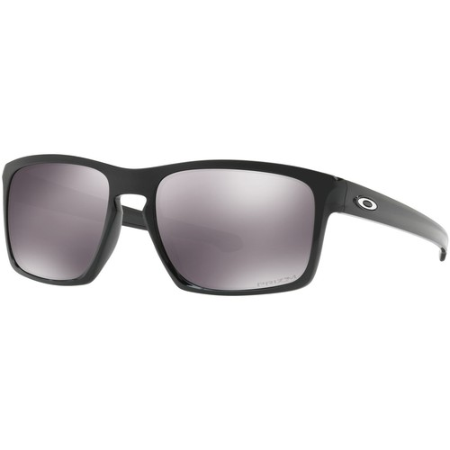 Watches Men Sunglasses Oakley Men's Silver Prizm Sunglasses, Black black