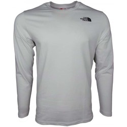 Clothing Men Long sleeved tee-shirts The North Face M LS Easy Tee white