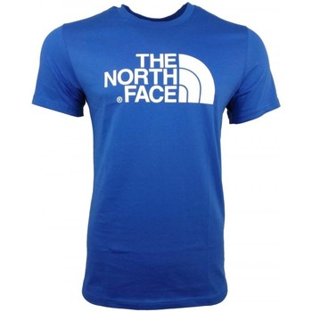 Clothing Men short-sleeved t-shirts The North Face M SS Easy Tee blue