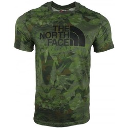 Clothing Men short-sleeved t-shirts The North Face M SS Easy Tee green