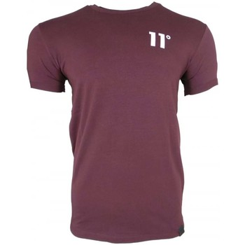 Clothing Men short-sleeved t-shirts 11 Degrees Muscle Fit T-Shirt purple