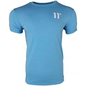 Clothing Men short-sleeved t-shirts 11 Degrees Muscle Fit T-Shirt blue