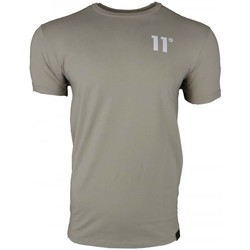 Clothing Men short-sleeved t-shirts 11 Degrees Muscle Fit T-Shirt grey