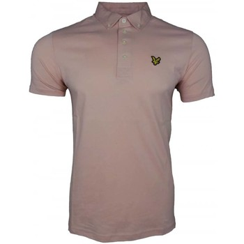 Clothing Men short-sleeved polo shirts Lyle And Scott Vintage SS Oxford Shirt pink