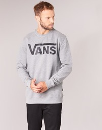 Clothing Men sweaters Vans VANS CLASSIC CREW Grey