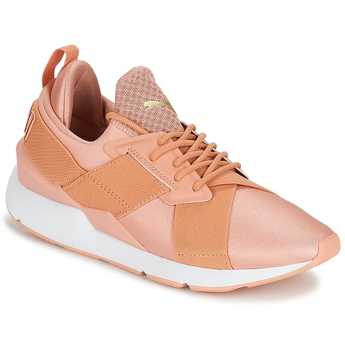 Shoes Women Low top trainers Puma PUMA Muse X-Strp St EP W's Coral