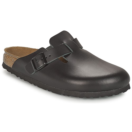 Shoes Clogs Birkenstock BOSTON PREMIUM Black
