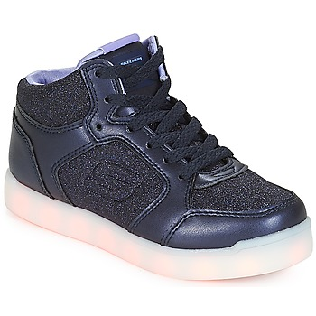 Shoes Girl Hi top trainers Skechers ENERGY LIGHTS Navy