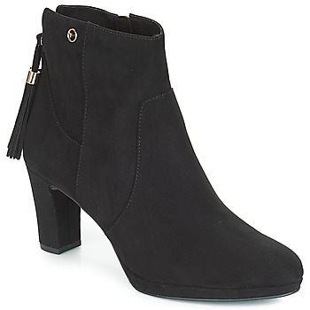 Shoes Women Ankle boots Tamaris MAURA Black