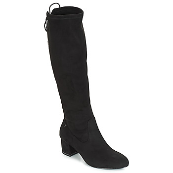 Shoes Women Thigh boots Tamaris PEDAS Black