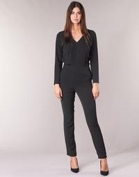 Clothing Women Jumpsuits / Dungarees Kaporal GWADA Black