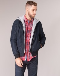 Clothing Men Leather jackets / Imitation leather Kaporal LODY Blue