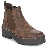 Shoes Women Mid boots Refresh SOBAO Brown