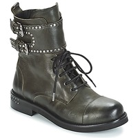 Shoes Women Mid boots Mimmu MICHEE Kaki