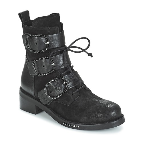 Shoes Women Mid boots Mimmu MOEZ Black