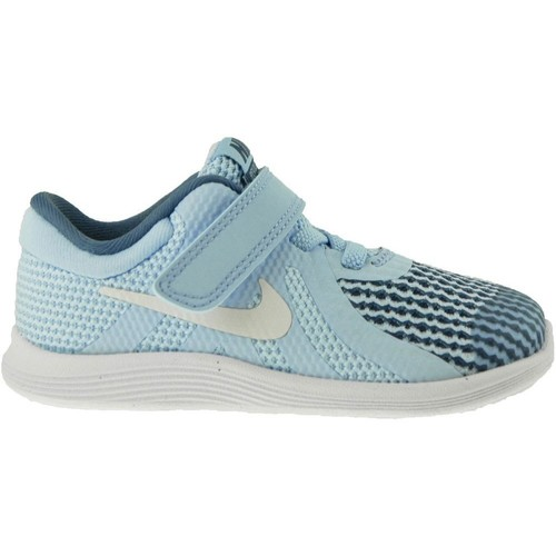 Shoes Children Low top trainers Nike Revolution 4 Tdv Navy blue-Blue-White