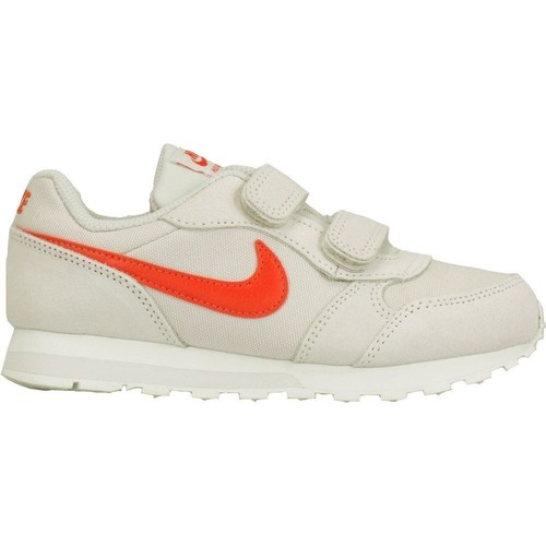 Shoes Children Low top trainers Nike MD Runner 2 Psv Grey-White-Red
