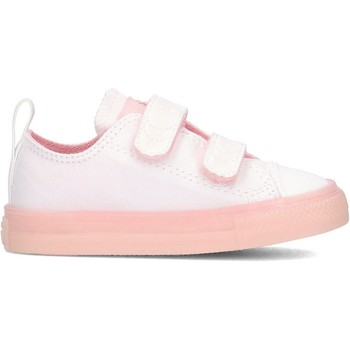 Shoes Children Low top trainers Converse Chuck Taylor All Star 2V White-Pink
