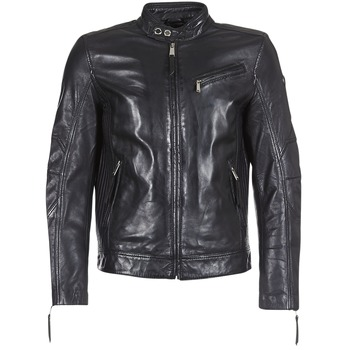 Clothing Men Leather jackets / Imitation leather Redskins TRUST CASTING Black