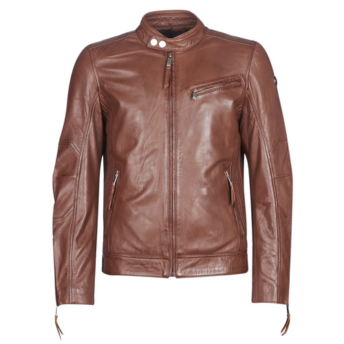 Clothing Men Leather jackets / Imitation leather Redskins TRUST CASTING Brown