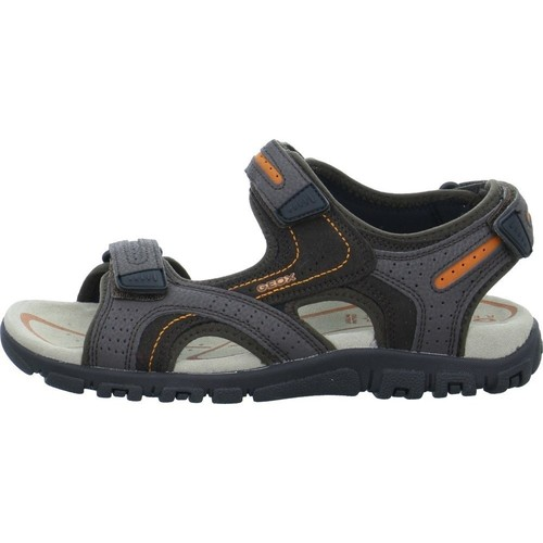 Shoes Men Sandals Geox Strada Brown