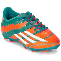 Shoes Boy Football shoes adidas Performance MESSI 10.3 FG J TURQUOISE / White / Orange