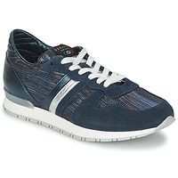 Shoes Women Low top trainers Serafini LOS ANGELES Blue