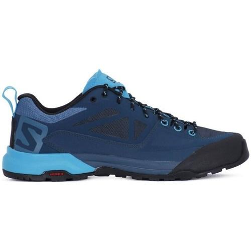 Shoes Women Low top trainers Salomon X Alp Spry W Blue-Navy blue