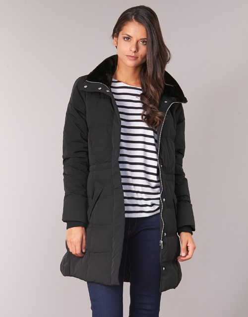 Clothing Women Coats Naf Naf BULODI Black
