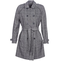 Clothing Women Trench coats Naf Naf ABITAILORING Grey