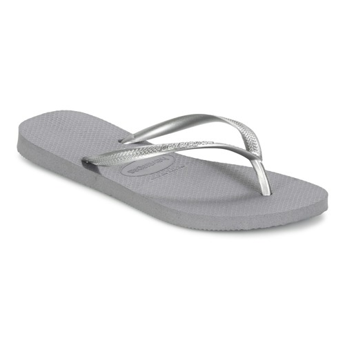 Shoes Women Flip flops Havaianas SLIM Steel Gray