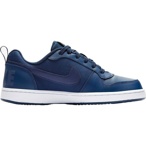 Shoes Children Low top trainers Nike Court Borough Low SE GS Navy blue-White