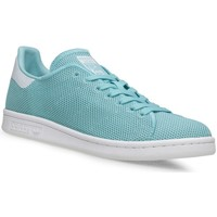 Shoes Women Low top trainers adidas Originals Stan Smith W White-Blue
