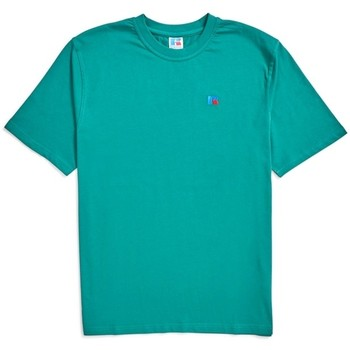 Clothing Men T-shirts & Polo shirts Russell Athletic Baseliners Tee Shirt Green Green
