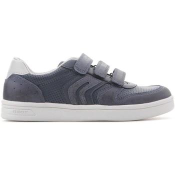 Shoes Women Low top trainers Geox Djrock J825VB 0BCCL C4002 navy
