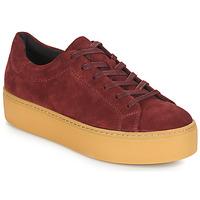 Shoes Women Low top trainers Vagabond JESSIE Bordeaux