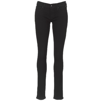 Clothing Women slim jeans Replay LUZ Black / 098