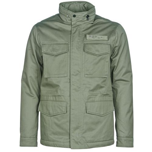 Clothing Men Jackets / Blazers Replay YAROUTE Kaki