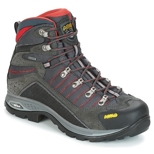 Shoes Men Walking shoes Asolo DRIFTER EVO GV Black / Red