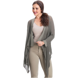 Clothing Women Jackets / Cardigans Laura Moretti Cardigan ASTRID Green F Green