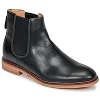 Shoes Men Mid boots Clarks Clarkdale Gobi  black / Leather